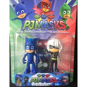 Juguete Pj Masks Set De 2 Muñecos Pijamas Pjmask Catboy
