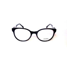 e8665c2368a9a Armação Óculos De Grau Feminino Fendi Ff0271 Importado Preto