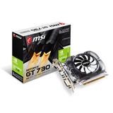 Tarjeta De Video Msi Nvidia Geforce Gt 730 2gb N730-2gd3v3