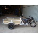 Triciclo De Carga Agrícola C/ Ré + Moto Cg Fan 2012 - Novo