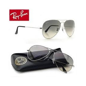 ray ban aviator azul degrade