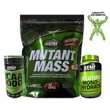Aumento De Masa Muscular Star Nutrition Ganador,creatina,bca