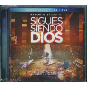 Dvd + Cd Marcos Witt - Sigues Siendo Dios (ed. Especial)