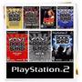 Rock Band Metal Track Ps2 (kit 7 Playstation 2 Guitar Hero