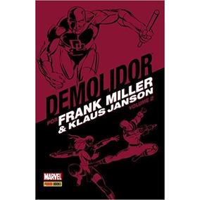 Demolidor Por Frank Miller E Klaus Janson Volume 2 Capa Dura