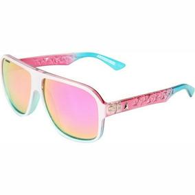 Óculos De Sol Absurda Original Rosa Espelhado
