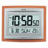 Reloj Casio De Pared Y Escritorio Con Termómetro Fecha Id15