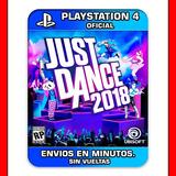 Just Dance 2018 Ps4 :: Digital :: Envios En Minutos