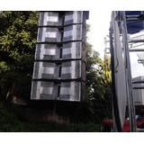 Sistema Arreglo Lineal Aereo Colgado Line Array Bocinas 8