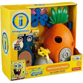Imaginext Casa Abacaxi - Bob Esponja - Mattel X7685 Mattel