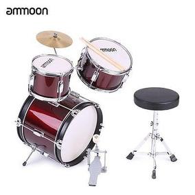 Ammoon Set De 3 Piezas Niños Junior Tambor Caliente +...