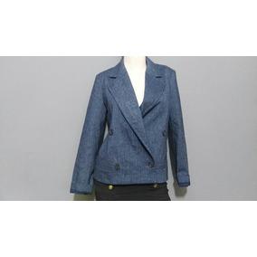 Saco Michael Kors Chico De Vestir Oficina Azul Jaspeado