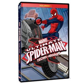 Dvd - Ultimate Spider-man Vol. 1: Tecno-araña