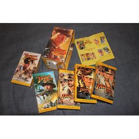 Box 5 Vhs - Las Aventuras De Indiana Jones - Trilogia f00733a3051