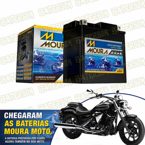 Bateria Moura Moto 12ah Yamaha Midnight Star