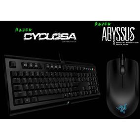 Kit Combo Razer Teclado Cyclosa + Mouse Abyssus