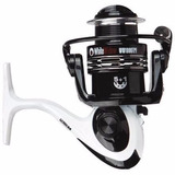 Reel Frontal Waterdog White Widow 1006 6 Rulemanes + Carrete