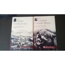 Colmillo Blanco / El Lobo De Mar / Jack London 2 Libros