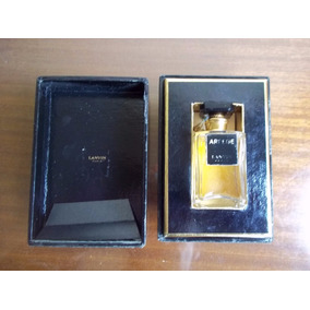 Arpege Lanvin Antiguo Frasco Miniatura Perfume Vacio En Caja