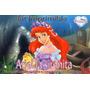 Kit Imprimible Para Tu Fiesta De La Sirenita Ariel