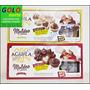 2 Cajas Chocolate Aguila Moldeo 170gr Blanco Negro + Molde