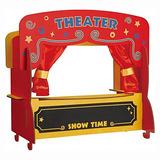 Niños Preferido Buildex Teatro De Títeres Actividad Inserta