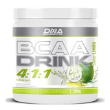 Kit 10 Bcaa Drink 4:1:1 Dna - 200g Limão