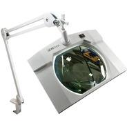 Lámpara Lupa 3x, 5 Dioptrías 60 Led Rectangular Cosmetología