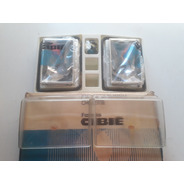 Par Lente Farol Cibie Chevette 83/93 Bi-iodo + Kit Foco Cav.