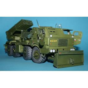 Replica Detalhada Caminhão De Guerra Firebox Papercraft