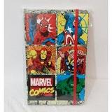 Diario De Notas Libreta Marvel Comics