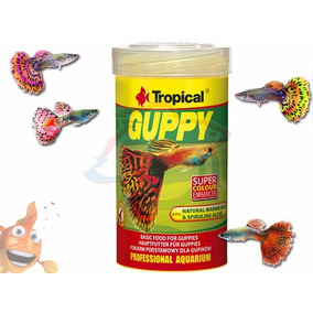Ração Para Lebistes De Raça - Tropical Guppy 20g