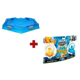 Arena E Kit Beyblade Turbo Battlers Max Steel - Mattel
