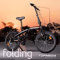 Bicicleta Plegable Top Mega 20 Folding Shimano 7vel Active