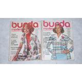 Revista Burda Moden Machtmodezunmitmachen Año 1976
