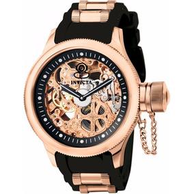 Relógio Invicta Russian Diver Banhado A Ouro Masculino 18k