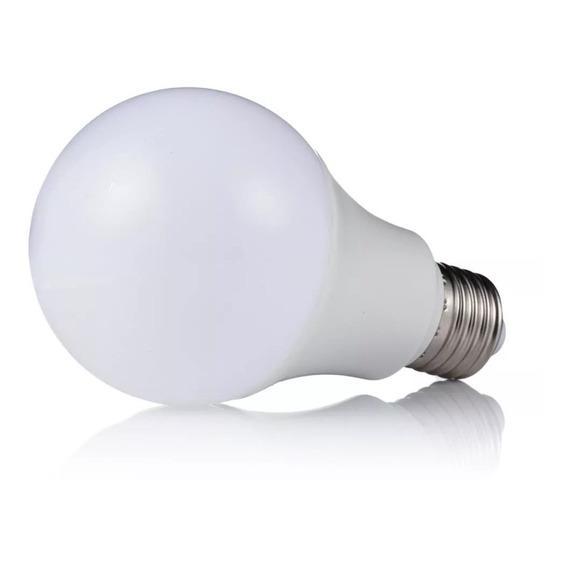 Lampara Led 9w E27 Bulbo 220v Bajo Consumo 60w Luz Fria