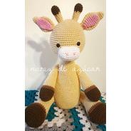 Jirafa Amigurumi Crochet - Tienda Online Nariz De Azúcar