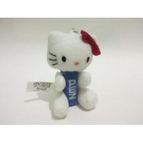 Dispensador Pez Y Llavero De Peluche Hello Kitty Azul