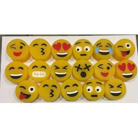 Velas Artesanales Cumpleaños-emoticones