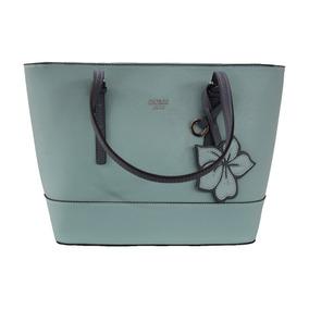 Bolsa Guess Chandler Para Dama Jj656122-aqu Color Azul Aqua*