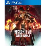 Resident Evil Super Bundle Ps4 Digital