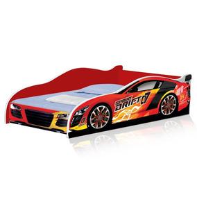 Cama Carro Solteiro Drift 188x88 Cm - Vermelho - 9889