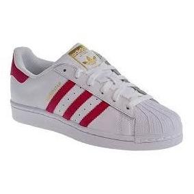 zapatillas adidas superstar fucsia