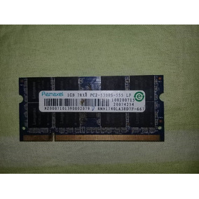 Memoria Laptop 1gb Ddr2 667mhz Pc2-5300s