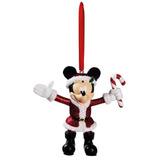 Mickey Com Bengala Doce Enfeite De Natal - Disney