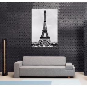 Cuadro Paris Antiguo Torre Eiffel Francia Ciudad Luces 40x60
