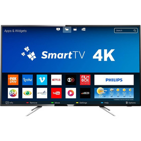 Smart Tv Led 50 Polegadas Philips 50pug6102/78 Uhd 4k