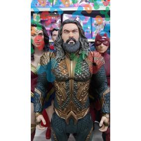 Boneco Collect Aquaman Dc Liga Da Justiça Mimo 45cm