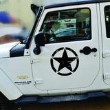 Calcomanias Jeep Estrellas Wrangler Jk Cj Tj Yj Original